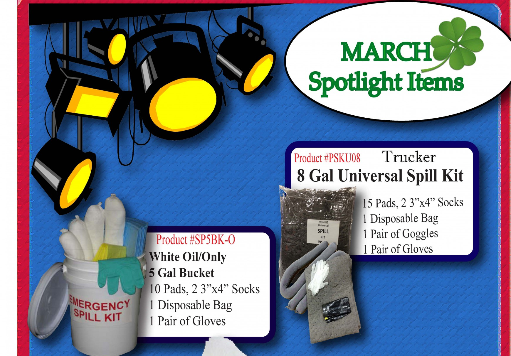 The Latest Specials on Shop Rags and Absorbants