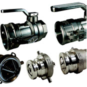 Multiple Hose Fittings Image  - Rubber & Specialties, Inc.