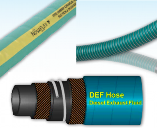 4 Reasons to Use Novaflex Uni-Chem and DEF Hoses